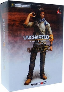 Uncharted 3 Play Arts Kai Series 1 Action Figure Nathan Drake
