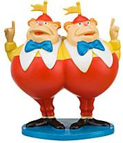 Disney Alice In Wonderland Exclusive 3 Inch LOOSE PVC Figure Tweedle Dee & Tweedle Dum