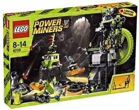 LEGO Power Miners Exclusive Set #8709 Underground Mining Station