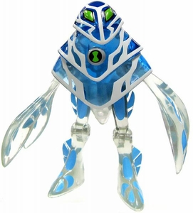 Ben 10 LOOSE 4 Inch Action Figure Ampfibian [Power-Up Version]