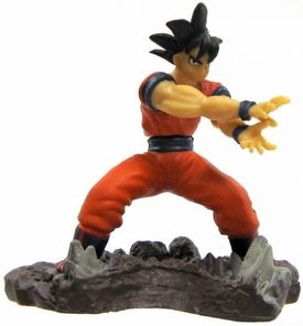 Dragon Ball Z Japanese Mini 2 Inch PVC Figure Goku [Kamehameha]