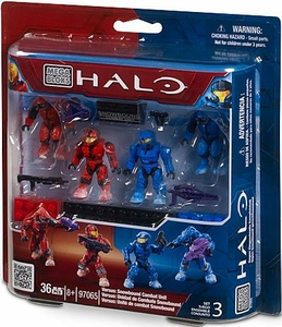 Halo Mega Bloks Exclusive Set #97065 Versus: Snowbound Combat Unit