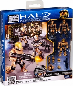 Halo Mega Bloks Set #97027 UNSC Desert Combat Unit [Random Package, Same Exact Figures!]
