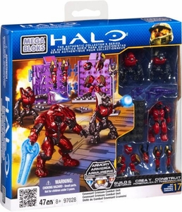 Halo Mega Bloks Set #97028 Crimson Covenant Combat Unit [Random Package, Same Exact Figures!]