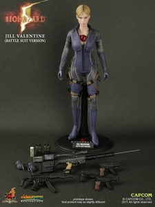 Resident Evil 5 Hot Toys Video Game Masterpiece 1/6 Scale Collectible Figure Jill Valentine [Battle Suit]
