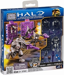 Halo Mega Bloks Set #97002 Covenant Silver Combat Unit