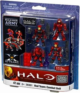 Halo Mega Bloks Exclusive Set #96961 Red Team: Combat Unit