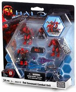 Halo Wars Mega Bloks Exclusive Set #96919 Red Covenant Combat Unit