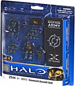 Halo Wars Mega Bloks Set #96912 Covenant Assault Unit
