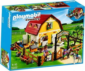 Playmobil Pony Ranch Set #5222 Children's Pony Farm