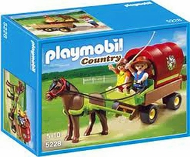 Playmobil Pony Ranch Set #5228 Children's Pony Wagon
