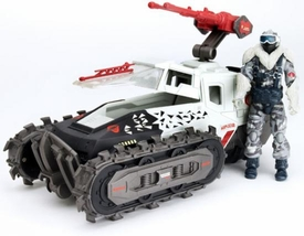 GI Joe Pursuit of Cobra Alpha Vehicle Cobra Ice Cutter with Snow Serpent Officer Action Figure