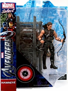 Marvel Select Action Figure Avengers Movie Hawkeye