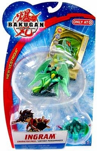 Bakugan Battle Brawlers B2 New Vestroia Character Pack Ingram