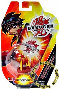 Bakugan Battle Brawlers Collector Mini PVC Figure Serpenoid [Random Colors] BLOWOUT SALE!