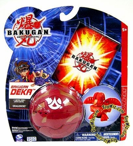 Bakugan Battle Brawlers Deka Series 1 Dragonoid [Blue]