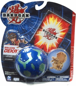 Bakugan Battle Brawlers Deka Series 1 Juggernoid [Blue]