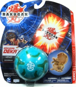 Bakugan Battle Brawlers Deka Series 1 Juggernoid [Green]