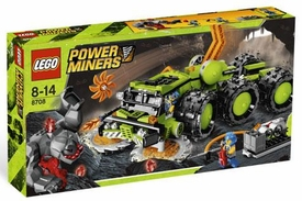 LEGO Power Miners Exclusive Set #8708 Cave Crusher
