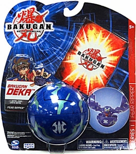 Bakugan Battle Brawlers Deka Series 1 Fear Ripper [Blue]