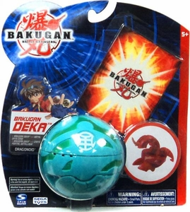 Bakugan New Vestroia Series 1 Deka Dragonoid [Green]