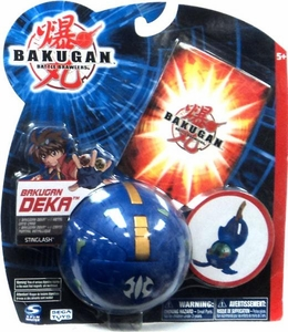 Bakugan New Vestroia Series 1 Deka Stinglash [Blue]