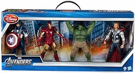 Disney Marvel Exclusive 8 Inch Action Figure 4-Pack The Avengers [Captain America, Iron Man, Hulk & Thor]