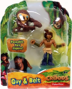 The Croods Movie 3 Inch Figure Guy & Belt