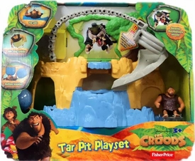 The Croods Movie Tar Pit Playset