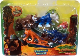 The Croods Movie Mini Figures 5-Pack  Croodaceous Creatures