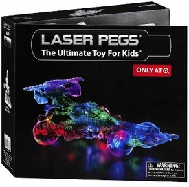 Laser Pegs Exclusive 12 In 1 Building Set #870 Race Car