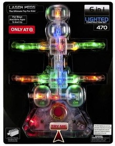 Laser Pegs Exclusive Building Set #470 Bug
