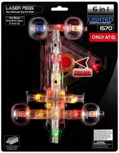 Laser Pegs Exclusive Building Set #1570 Racer