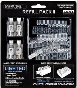 Laser Pegs Exclusive Building Set #1470 Refill Pack 2