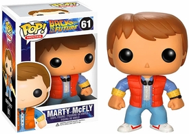 Funko POP! Back to the Future Vinyl Figure Marty New!