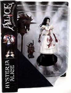Diamond Select Toys Alice: Madness Returns Exclusive Action Figure Hysteria Mode Alice