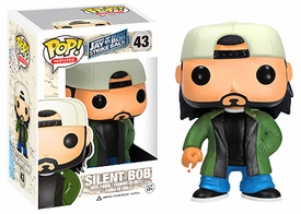 Funko POP! Jay and Silent Bob Strike Back Vinyl Figure Silent Bob