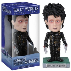 Funko Wacky Wobbler Bobble Head Edward Scissorhands