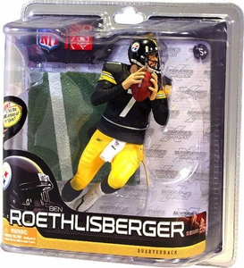 McFarlane Toys NFL Sports Picks Series 28 Action Figure Ben Roethlisberger (Pittsburgh Steelers)