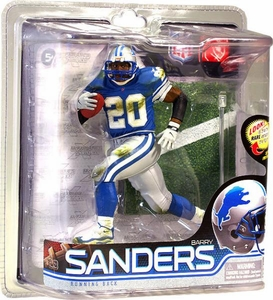 McFarlane Toys NFL Sports Picks Series 28 Action Figure Barry Sanders (Detroit Lions)