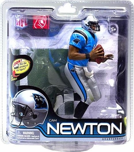 McFarlane Toys NFL Sports Picks Series 28 Action Figure Cam Newton (Carolina Panthers) Blue Jersey Bronze Collector Level Chase Only 3,000 Made!