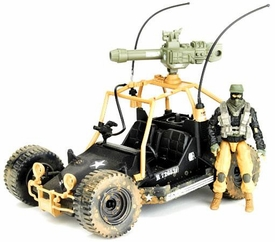 GI Joe Pursuit of Cobra Alpha Vehicle A.W.E. Striker with Nightfox Action Figure