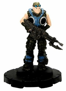 Gears of War Heroclix Single Figure #004 Damon Baird