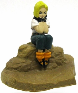 Dragonball Z Japanese Mini 2 Inch PVC Figure Android 18