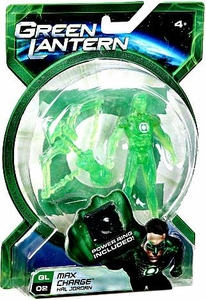 Green Lantern Movie 4 Inch Action Figure GL 02 Max Charge Hal Jordan