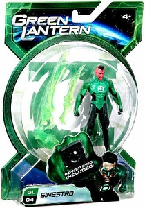 Green Lantern Movie 4 Inch Action Figure GL 04 Sinestro