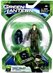 Green Lantern Movie 4 Inch Action Figure GL 11 Test Pilot Hal Jordan