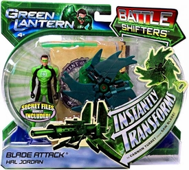 Green Lantern Movie Battle Shifters Deluxe Action Figure Blade Attack Hal Jordan [Instantly Transforms!]