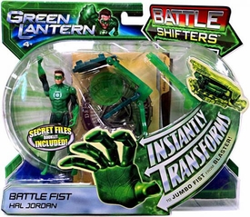 Green Lantern Movie Battle Shifters Deluxe Action Figure Battle Fist Hal Jordan [Instantly Transforms!]