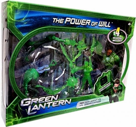 Green Lantern Movie 4 Inch Action Figure 4-Pack The Power Of Will [Abin Sur, Isamot Kol, Hal Jordan & Kilowog]
